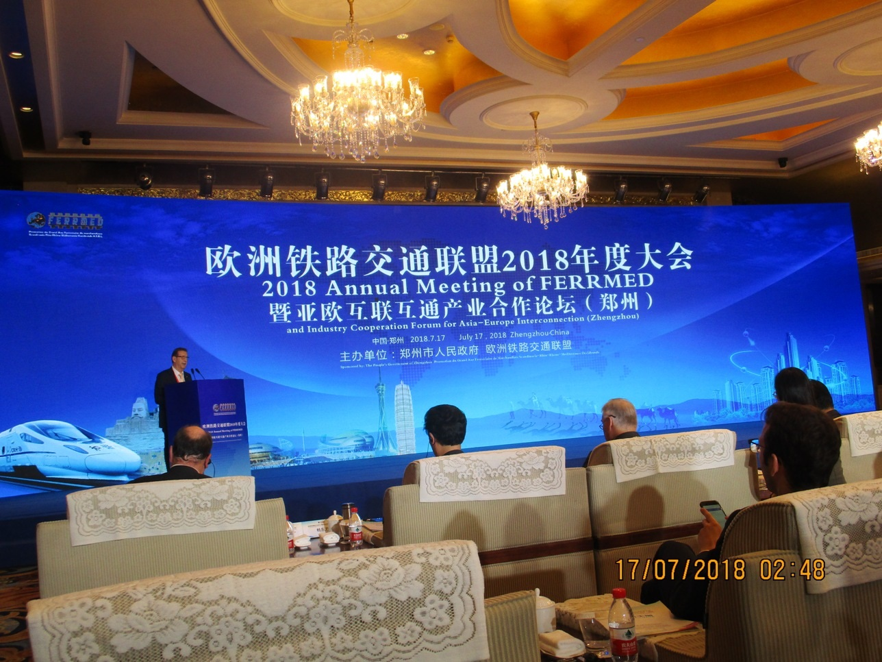 Speech from Tomas Expeditions to the conference that Ferrmed do in Zhengzhou ( China)