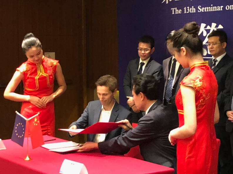 Tomas Expediciones participates in the signing of Ferrmed agreements in Zhengzhou